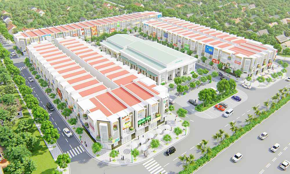 du an Baria Central 1 - Dự án Baria Central