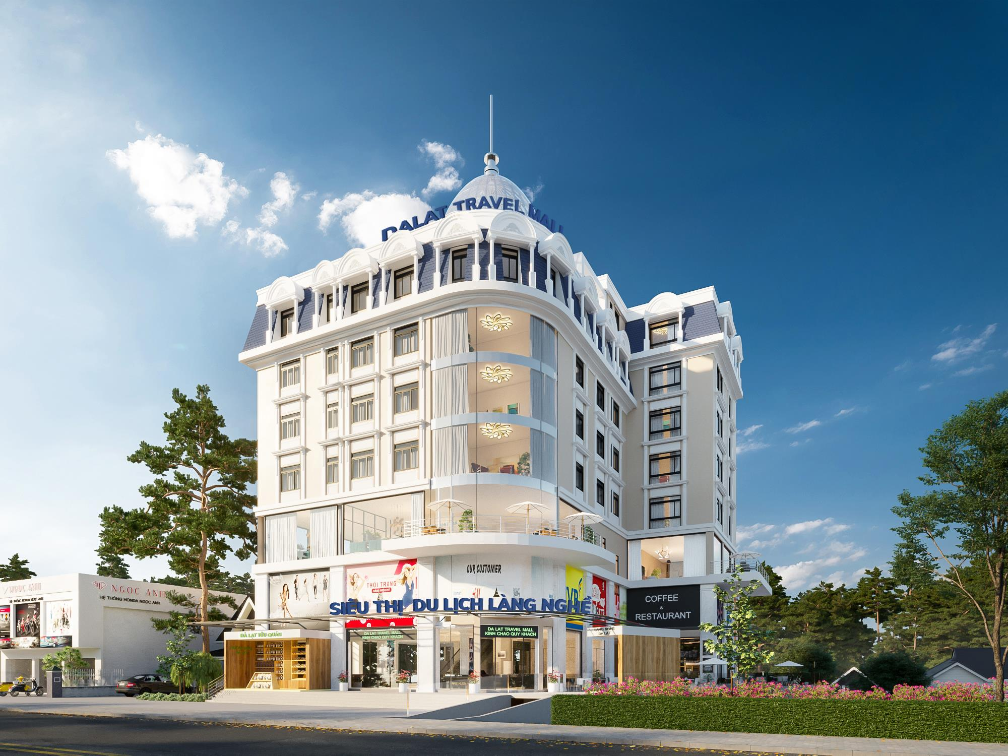 Dalat Travel Mall 1 - Dự án Dalat Travel Mall