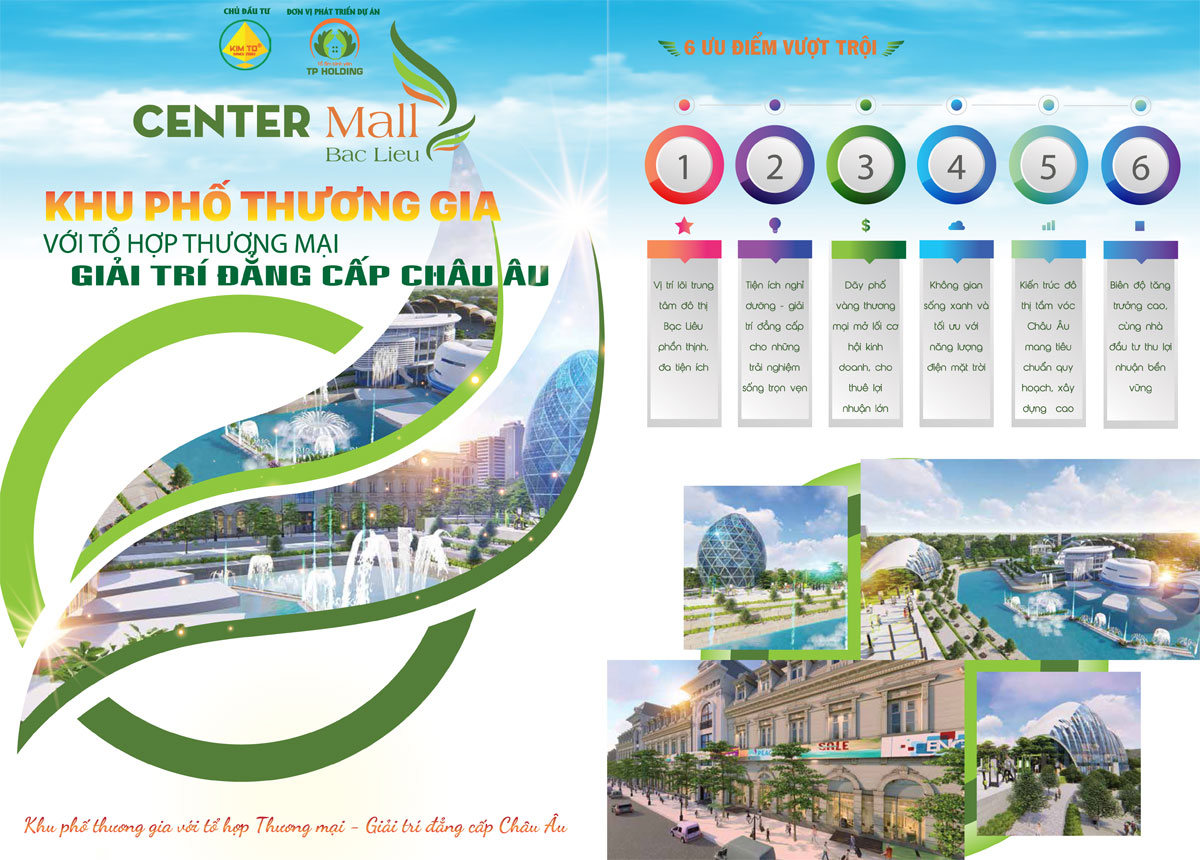 Du an Center Mall Bac Lieu 3 - Dự án Center Mall Bạc Liêu