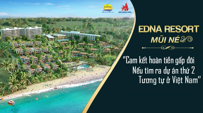 Edna Resort Mui Ne 1 - Edna Resort Mũi Né