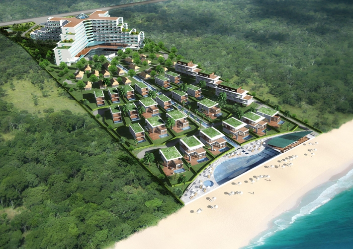 Non Nước Beach Front Resort Spa
