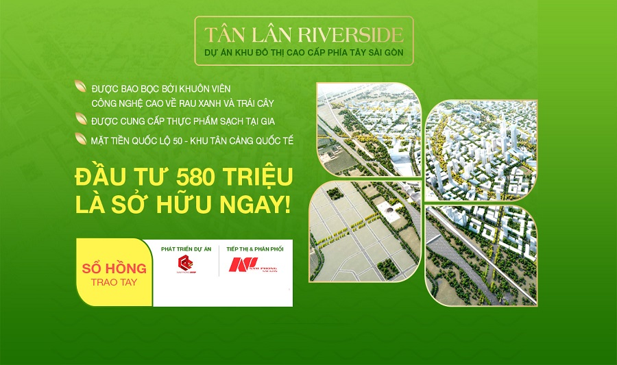 Tan Lan Riverside Long An 5 - Tân Lân Riverside Long An