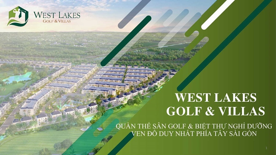 Dự án West Lakes Golf & Villas