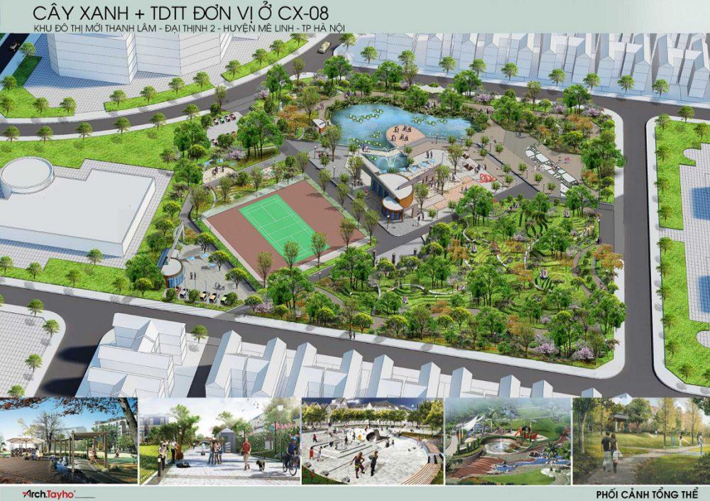 Biet Thu ShopHouse Hud Me Linh Central 2 - Biệt Thự ShopHouse HUD Mê Linh Central