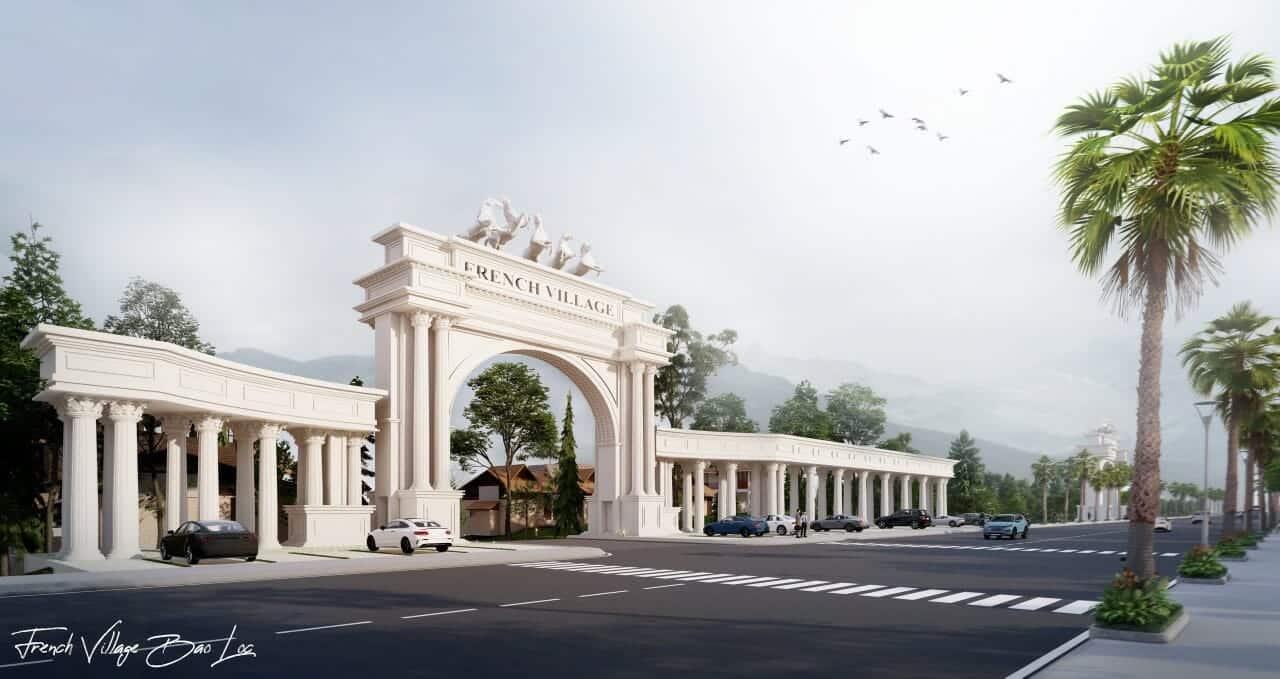 biet thu lang phap bao loc 9 - Biệt Thự Làng Pháp Resort & Spa Bảo Lộc