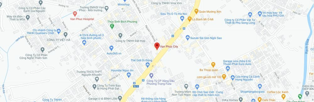 Van Phuc Center 1 - Vạn Phúc Center