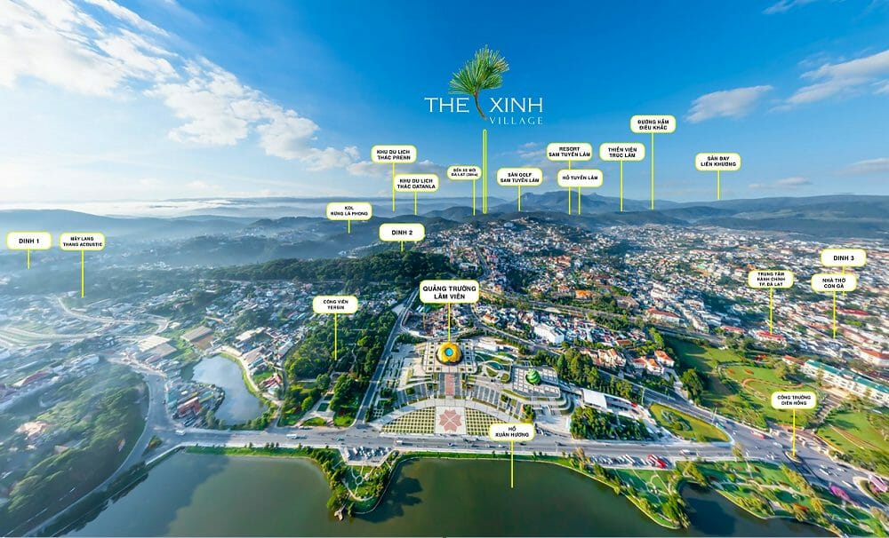 du an The Xinh Village 2 - The Xinh Village Đà Lạt