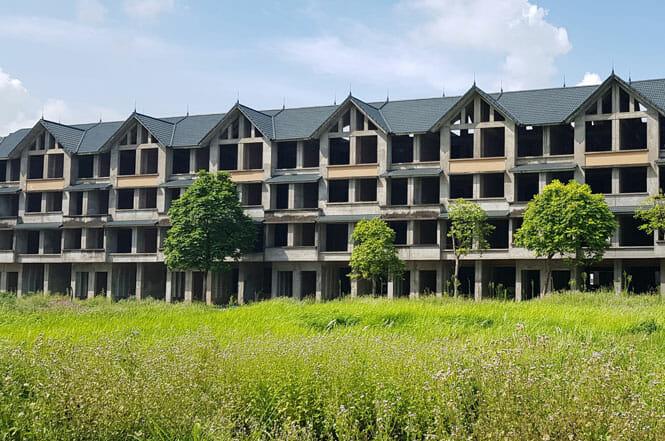 bietthu1 1 - Sớm xử lý nhà liền kề, biệt thự bỏ hoang