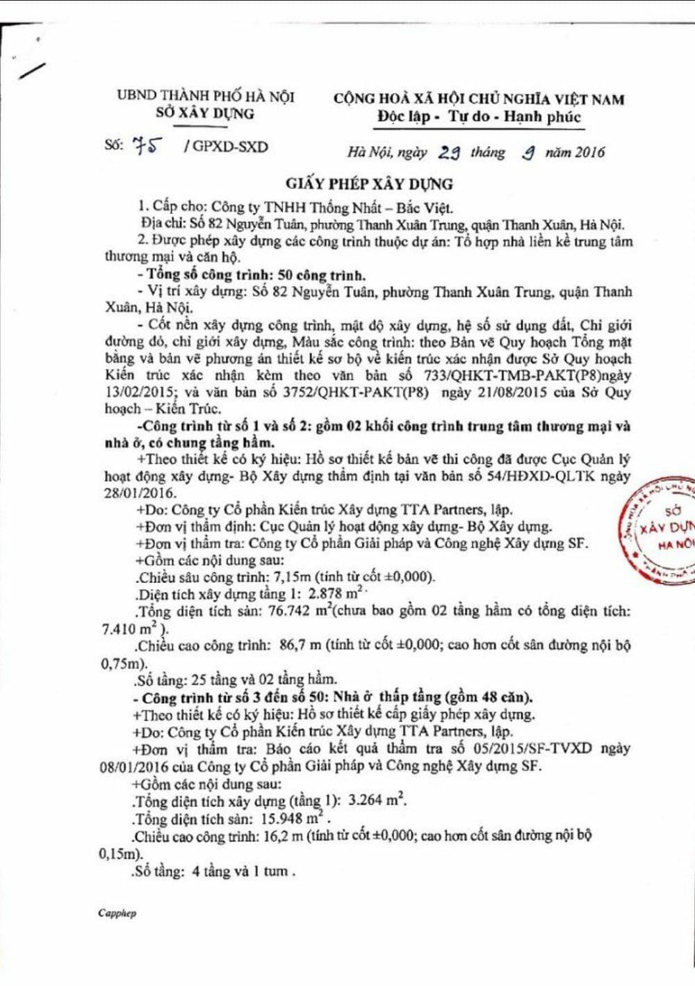 giay phep xay dung - Pháp Lý Căn Hộ Chung Cư